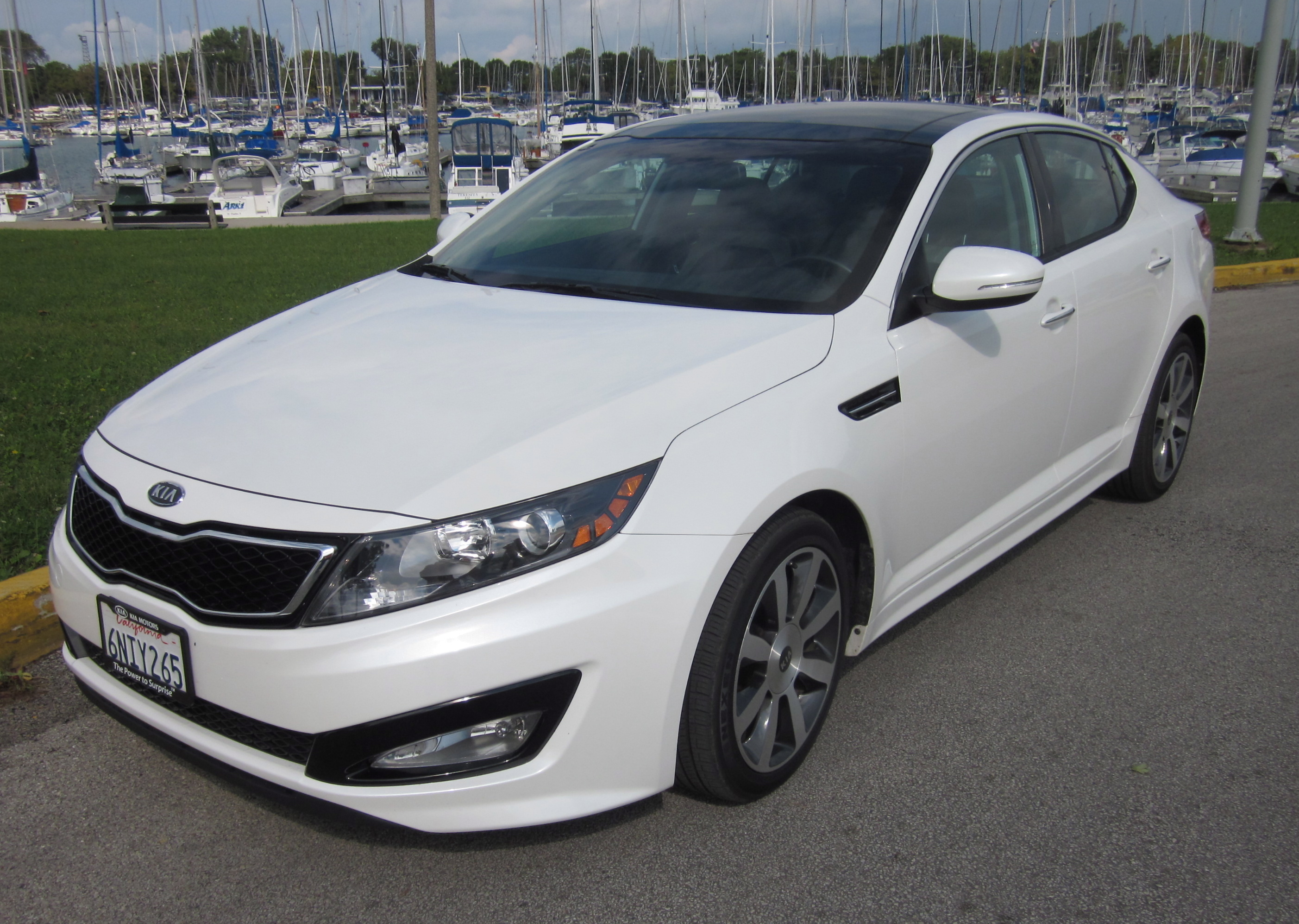 2012 Kia Optima Review Green Or Mean By Larry Nutson Video Rear View Camera