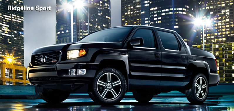 2012 honda ridgeline adds new sport model more style and. Black Bedroom Furniture Sets. Home Design Ideas