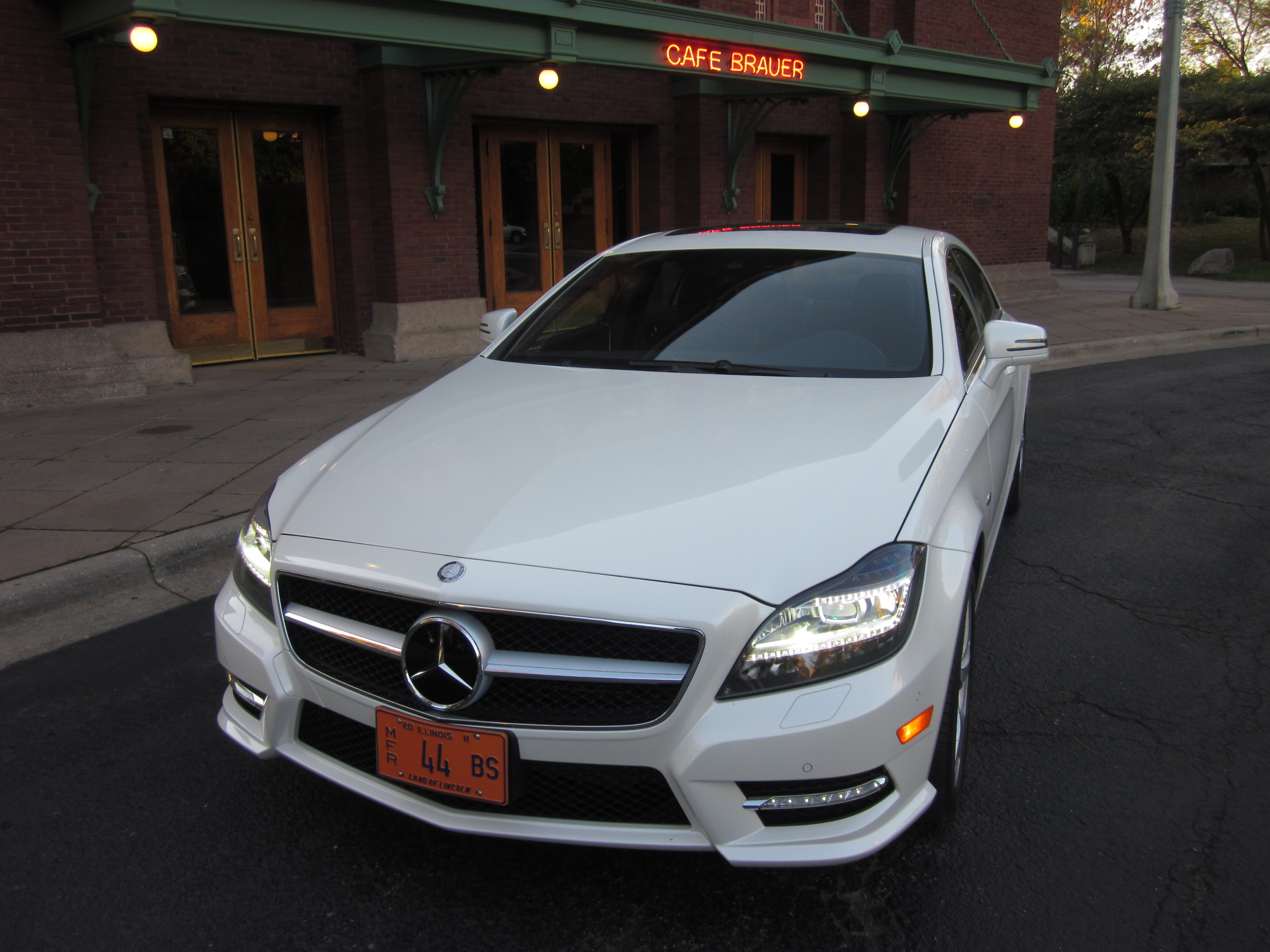 2012 Mercedes Benz CLS550 Drive And Review By Larry Nutson
