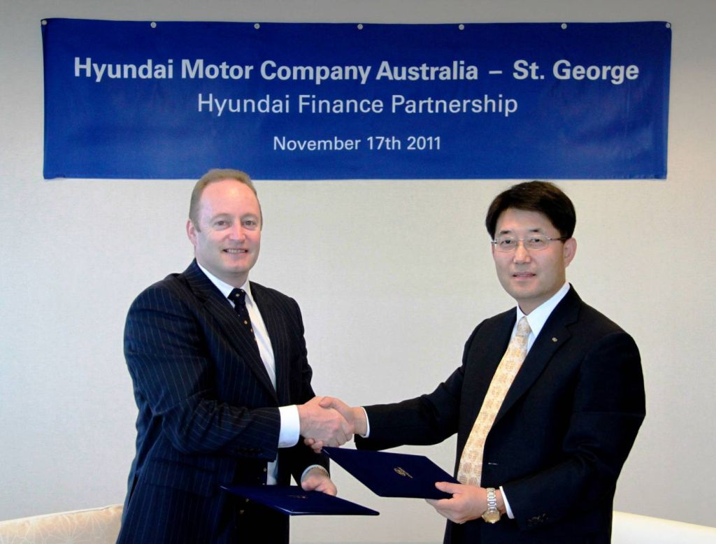 Hyundai And St George Announce Auto Finance Arrangement