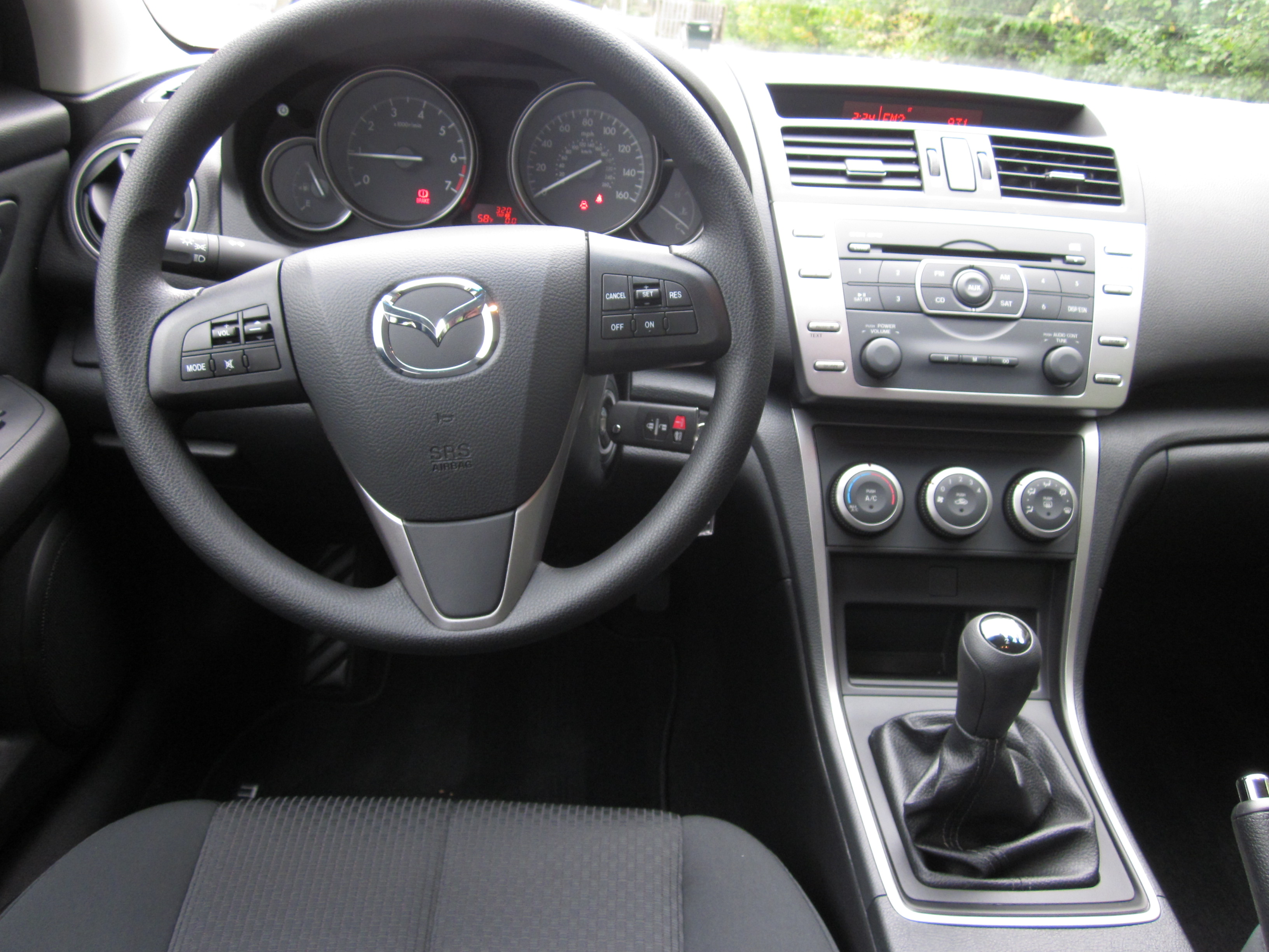 2012 Mazda6 Ride And Review By Larry Nutson