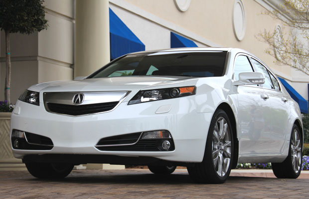 Heels On Wheels 2012 Acura Tl Review