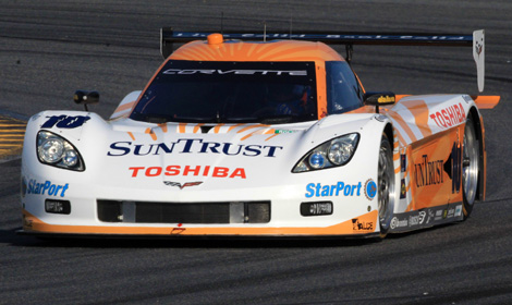 Fastest Auto Racing  on Event   Sun Trust Corvette Fastest During Daytona Testing