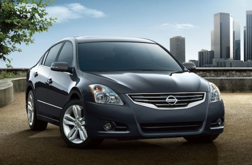 Heels on Wheels - 2012 Nissan Altima Review