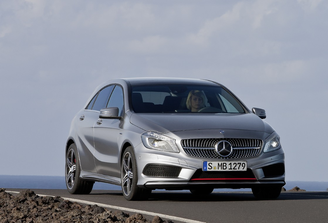 """Discount Mercedes Parts >> New Mercedes-Benz A-Class - the sporty compact model """"All set for attack"""" at Geneva Motor Show ..."""