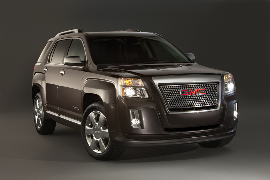 2013 GMC Terrain Denali SUV Debuts with New 3.6L V-6 +VIDEO