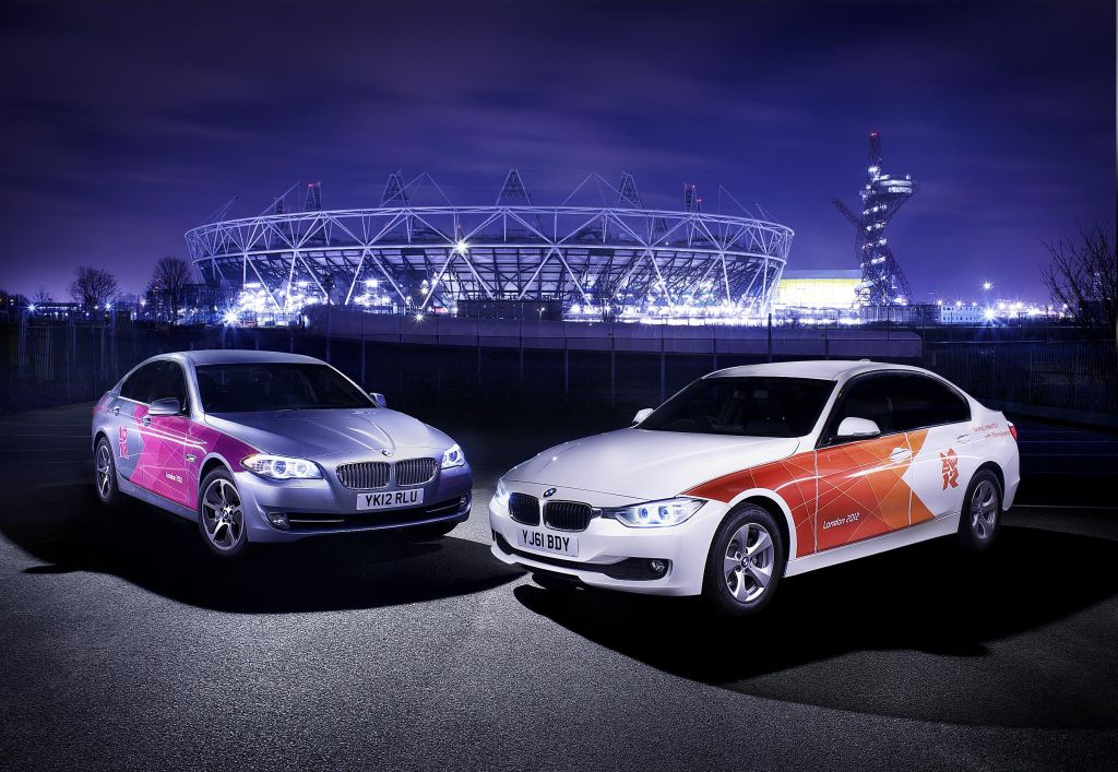 Bmw Group 39 S Olympic Fleet Begins The Journey To London 2012