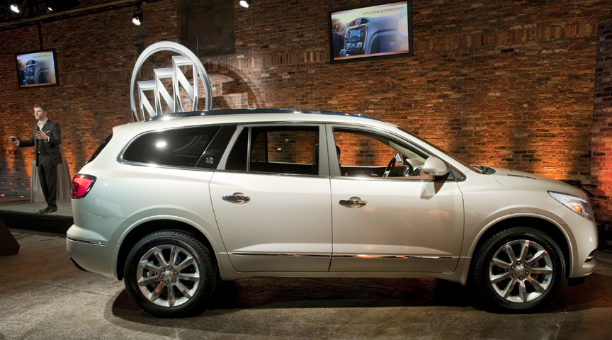 Buick Unveils New Enclave at 2012 New York Auto Show VIDEO