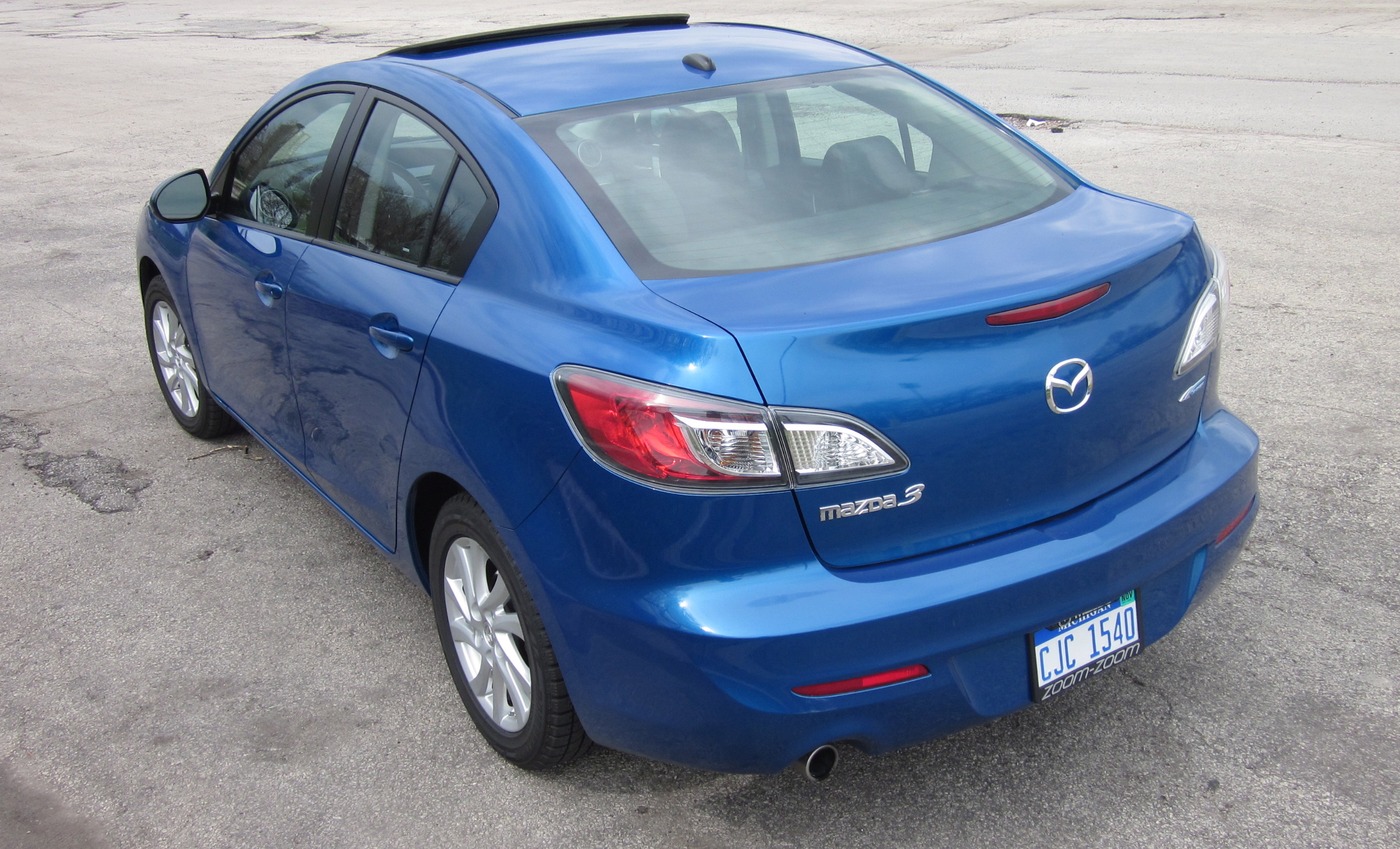 2012 mazda3 i skyactiv sedan ride and review by larry nutson