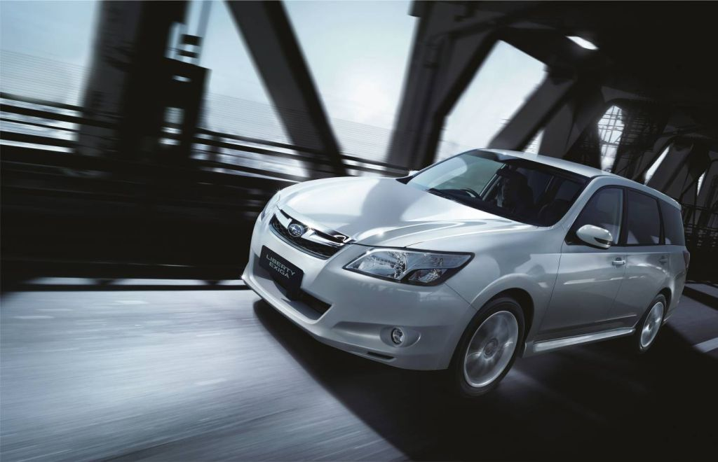 Six goes into seven for subaru family wagon