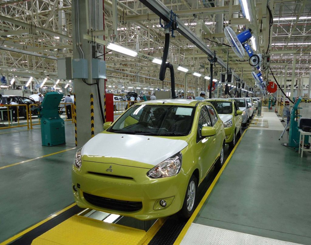 Mitsubishi Motors Corporation Begins Production Of The Mirage In
