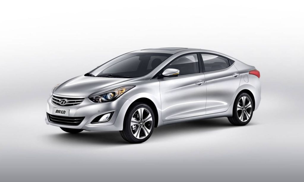 Hyundai Motor Unveils China Exclusive Elantra At The 2012