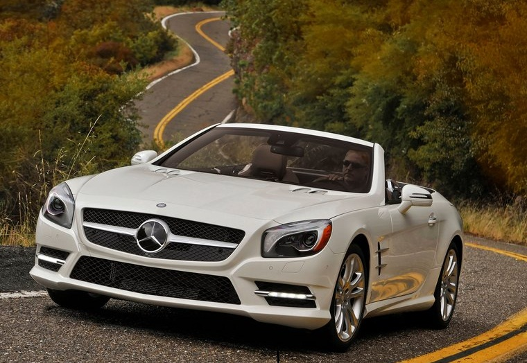 to the mercedes benz sl class two models from themercedes benz. Cars Review. Best American Auto & Cars Review