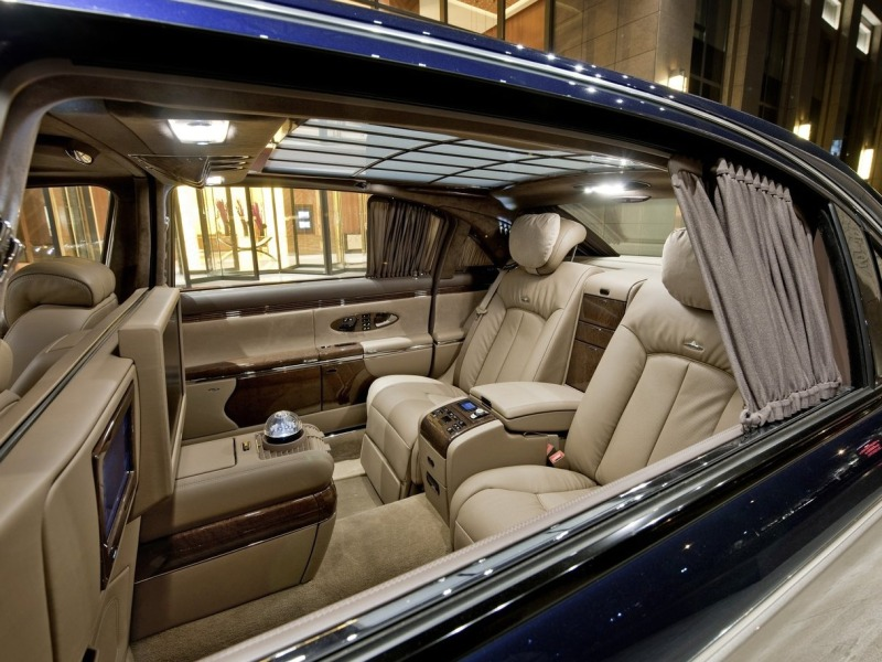 Luxury Carmakers Give New Attention To Back Seats
