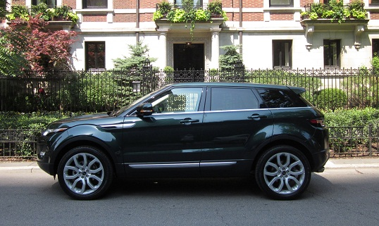 2012 Range Rover Evoque Review By Larry Nutson