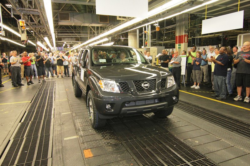 Nissan To Move Frontier, Xterra Production to Mississippi