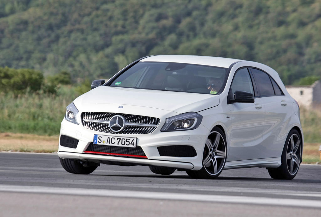 2013 mercedes benz a 250 sport henny takes a hard drive. Black Bedroom Furniture Sets. Home Design Ideas