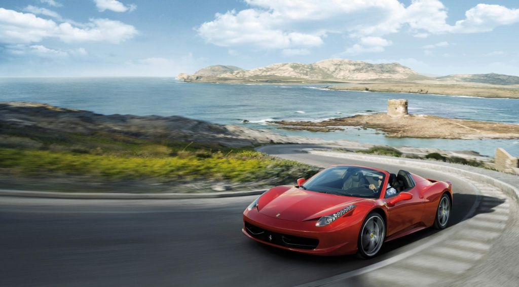 Ferrari 458 Spider Wins Best Sports Car And Convertible Award From