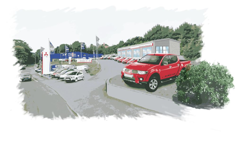 Mitsubishi Motors In The Uk Announces New Dealer In Cornwall