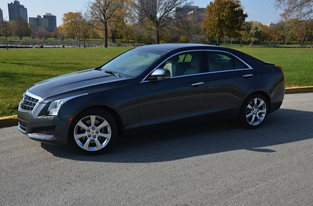 2013 Cadillac ATS Chicagoland Review By Larry Nutson