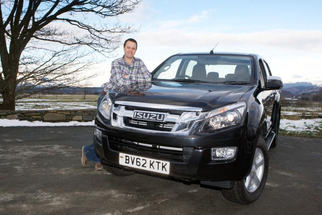 Champion Welsh Farmer Picks Up Isuzu D-Max