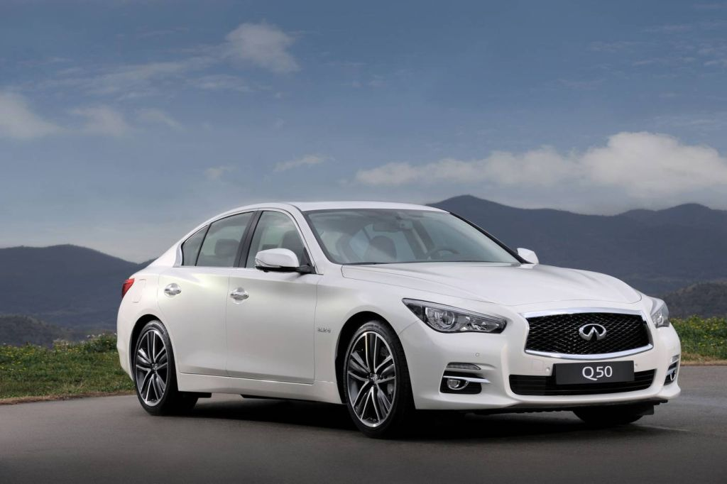 Infiniti Q50: A New Model, A New Name, A New Engine
