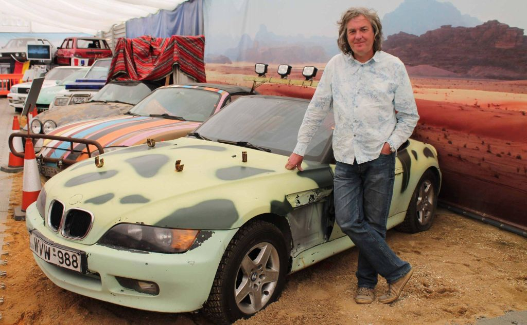 james may drops in on world of top gear at beaulieu. Black Bedroom Furniture Sets. Home Design Ideas