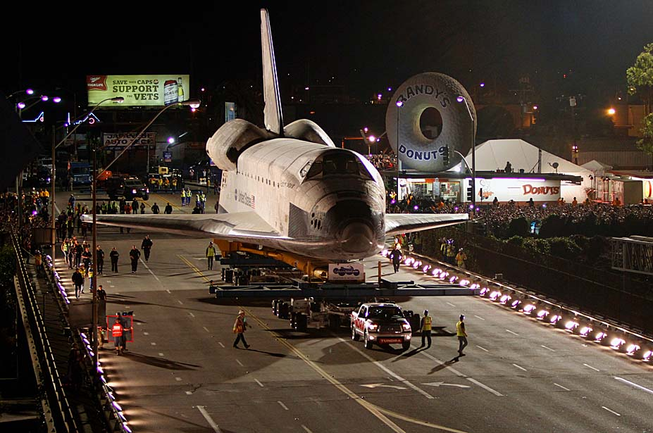 Toyota Tundra That Towed Space Shuttle Endeavour at California Science Center
