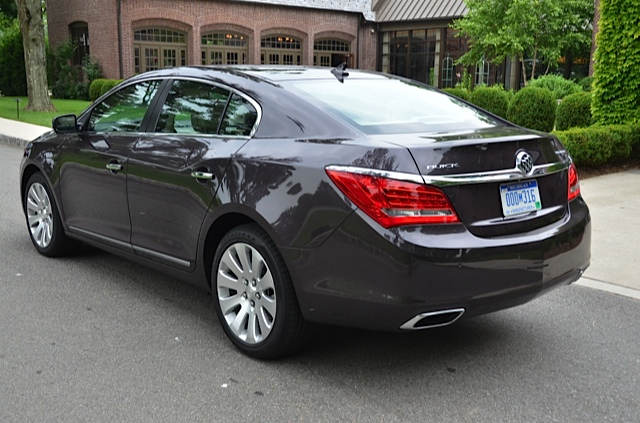 2014 Buick LaCrosse First Drive Review By Larry Nutson