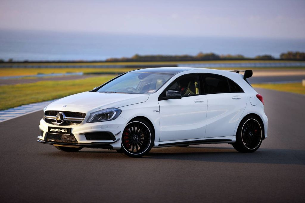 Top Gear Awards Mercedes Benz A 45 Amg As Its 2013 Car Of