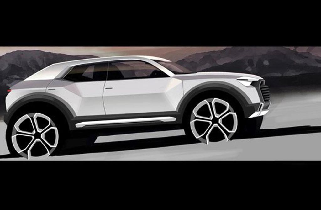 Audi Confirms All New Suv To Be Produced From