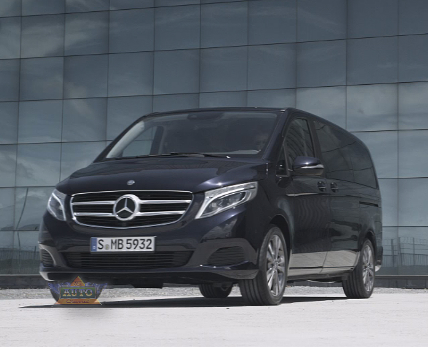 2015 mercedes benz v class mpv minivan world premiere video. Cars Review. Best American Auto & Cars Review