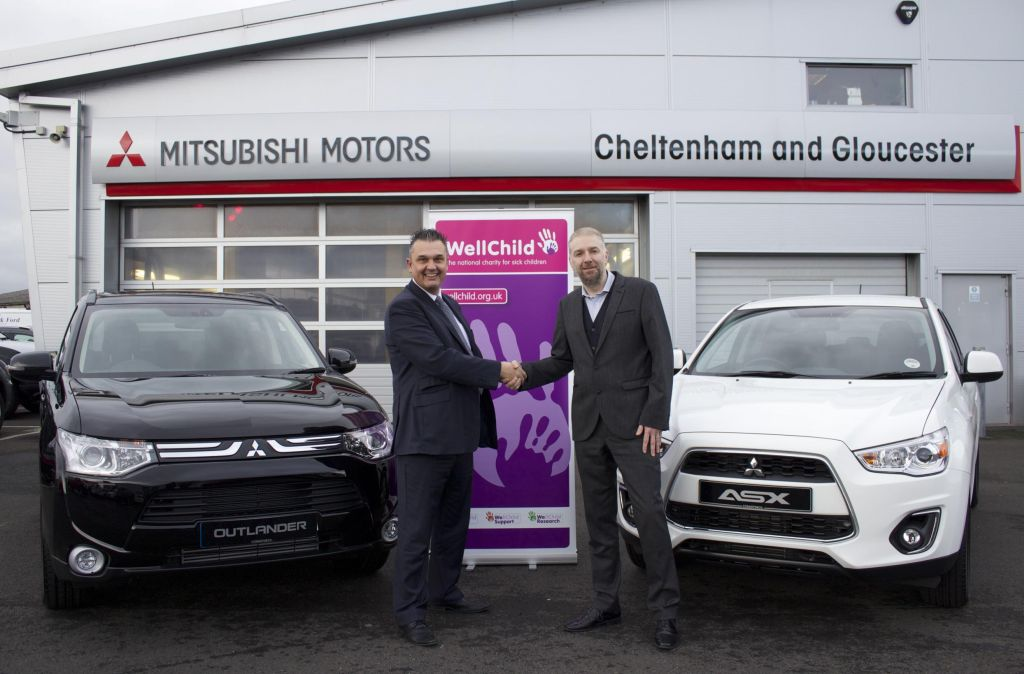 Children 39 S Charity Gets Motoring Thanks To Mitsubishi Dealership