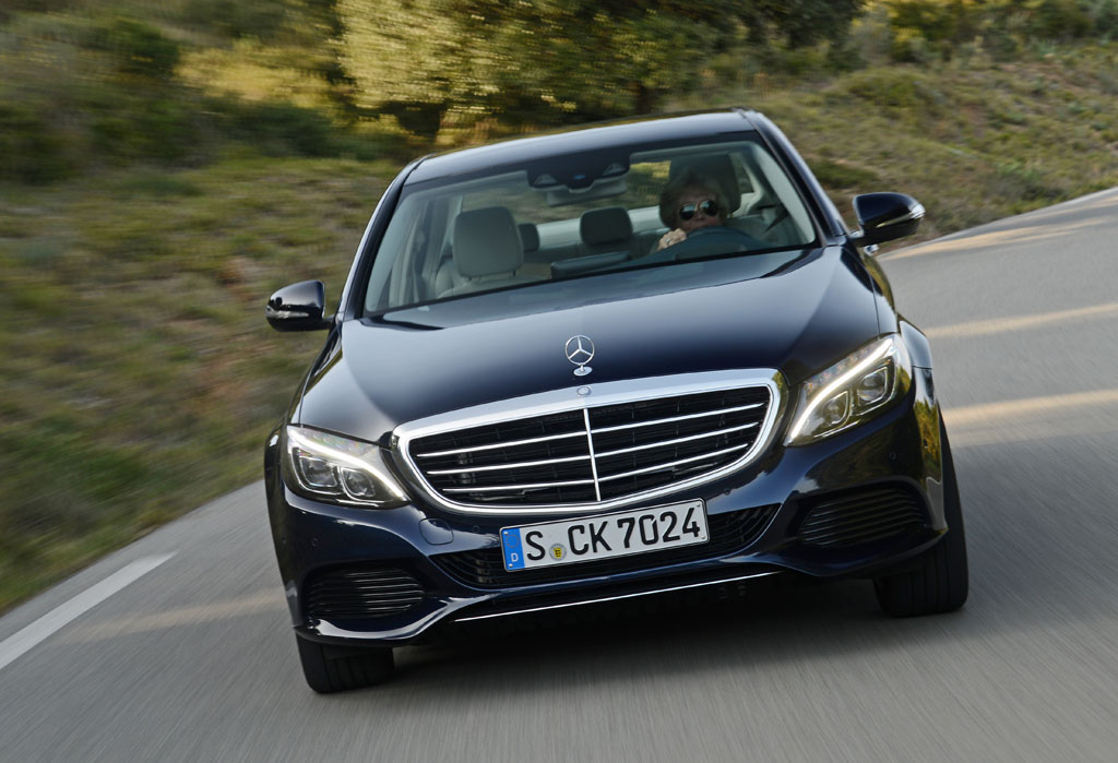 2015 MercedesBenz CClass  First Drive by Henny Hemmes VIDEO
