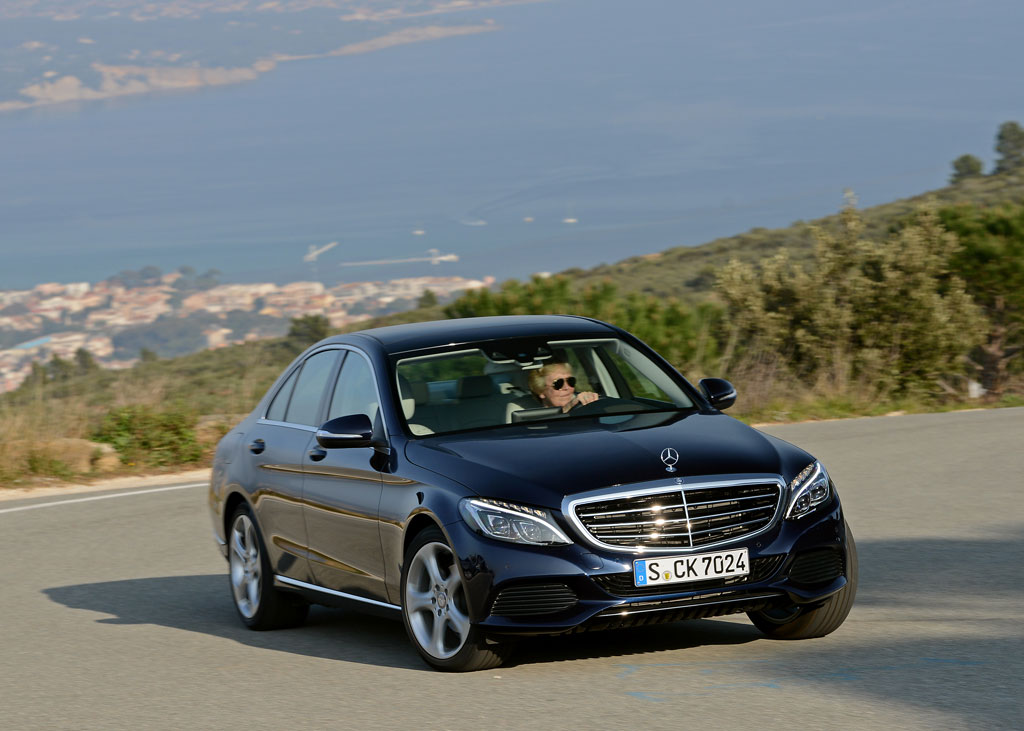 report mercedes benz c class coupe c63 amg and estate in the