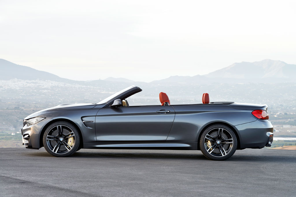 2015 Bmw X4 And 2015 Bmw M4 Convertible At New York