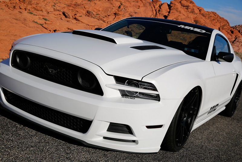 drive away in their SEMA built, custom 2014 MustangGT—Project MMD