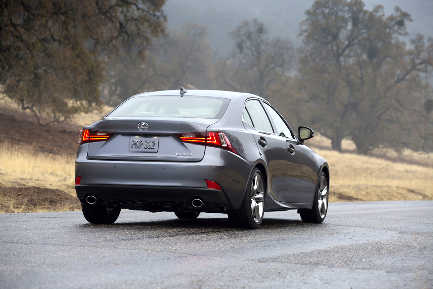 2014 Lexus Is 350 Awd With 2015 Updates Review By Carey