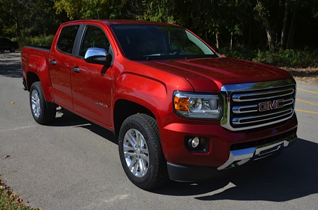 Truck Review: 2015 Chevrolet Colorado and 2015 GMC Canyon by Larry Nutson