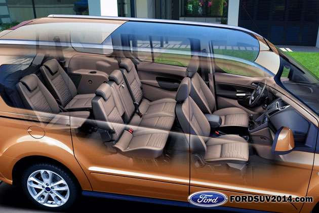 2014 Ford Transit Connect Lwb 7 Passenger Wagon Platinum