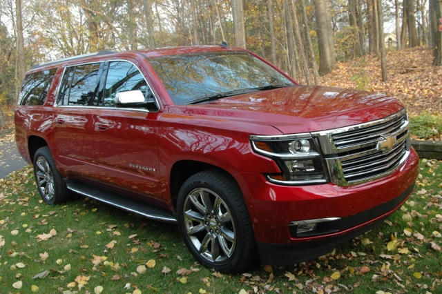 "2015 Chevrolet Suburban LTZ 2WD ""Big Man Review"" By Steve ..."