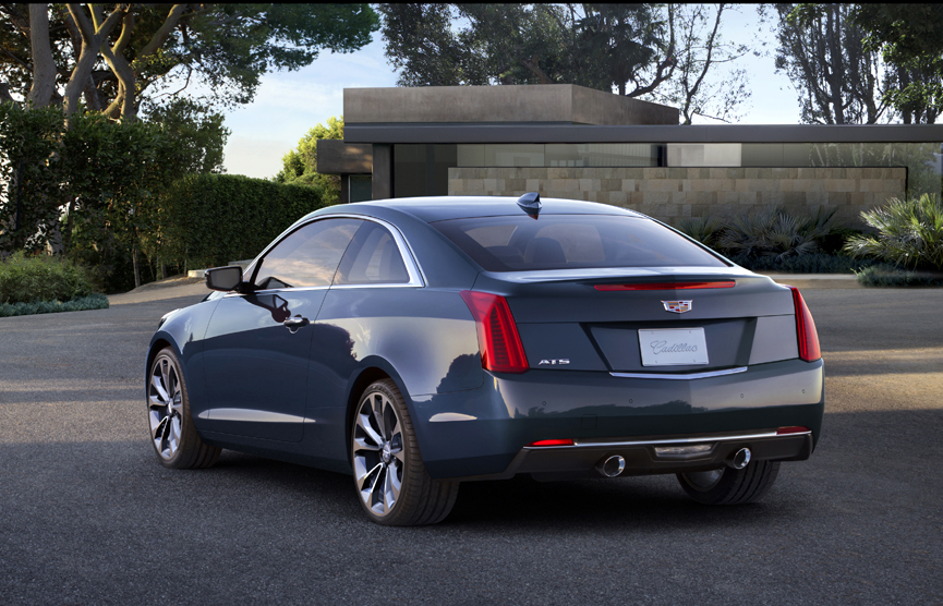 2015 Cadillac ATS 2.0T Performance Coupe Review by Carey ...
