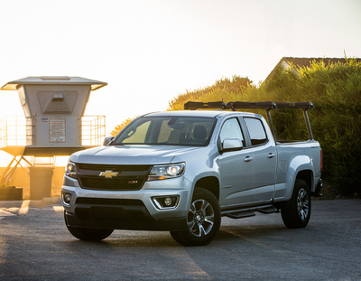 2015 Chevrolet Colorado Crew Cab Short Box Z71 4x4 Review ...