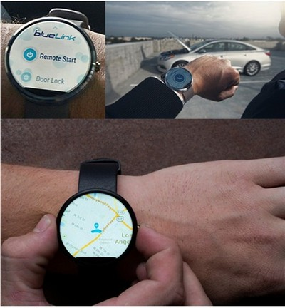 android wear can remote start your hyundai. Black Bedroom Furniture Sets. Home Design Ideas