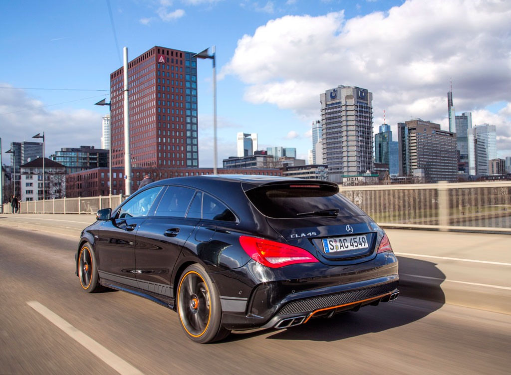 first drive 2016 mercedes benz cla 45 amg 4matic shooting brake video. Black Bedroom Furniture Sets. Home Design Ideas