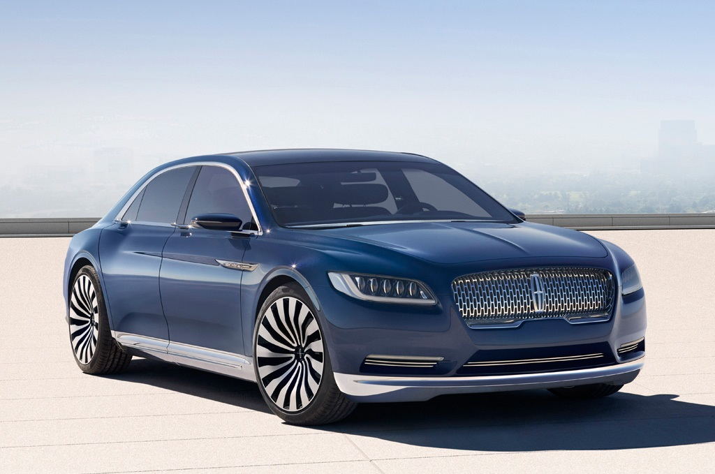 2016 lincoln continental revealed. Black Bedroom Furniture Sets. Home Design Ideas