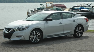 First Look - First Drive: 2016 NISSAN MAXIMA Review by