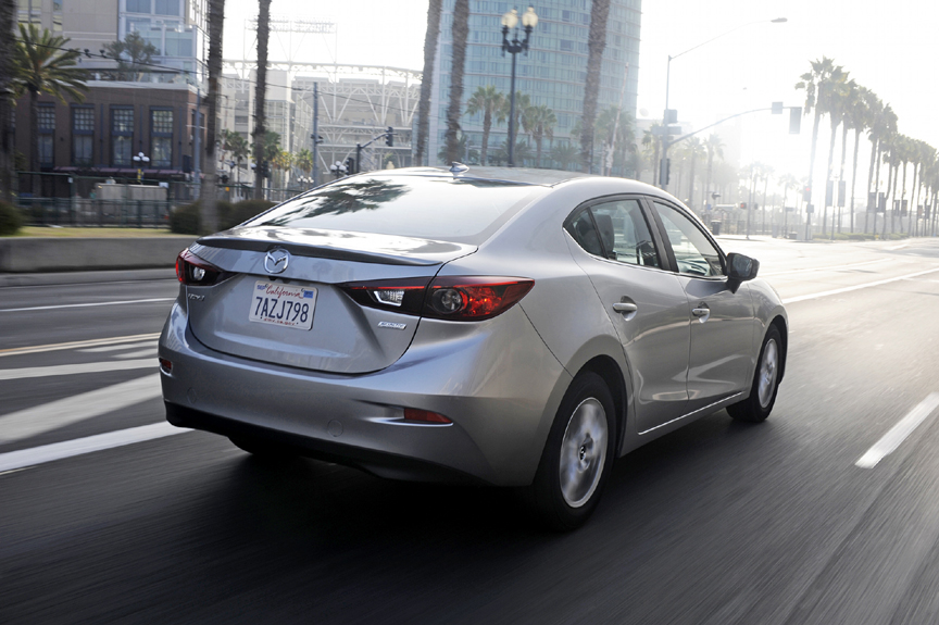 2015 Mazda3 i 4-Door Touring Review by Carey Russ +VIDEO