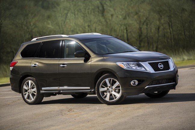 2015 Nissan Pathfinder Platinum 4x4 Review By Steve Purdy