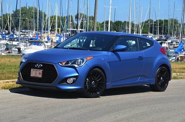 2016 Hyundai Veloster Rally Edition Windy City Review +VIDEO by ...